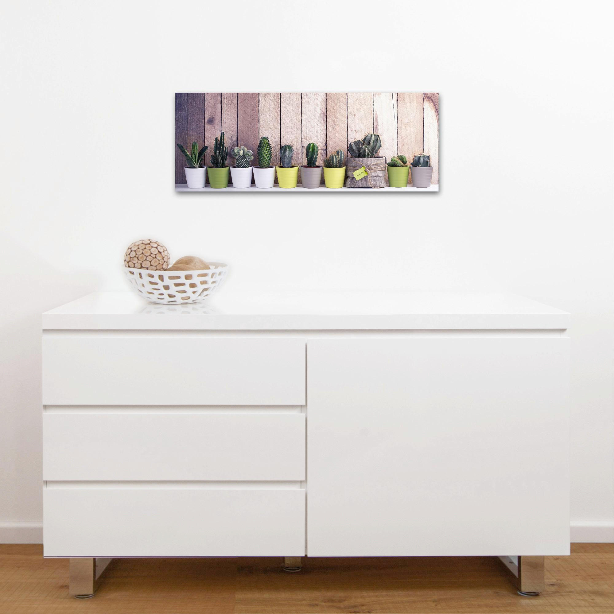GLASBILD - Multicolor, Basics, Glas (30/80/2cm) - EUROGRAPHICS