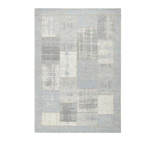 FLACHWEBETEPPICH  155/230 cm  Hellblau   - Hellblau, Trend, Textil (155/230cm) - Novel