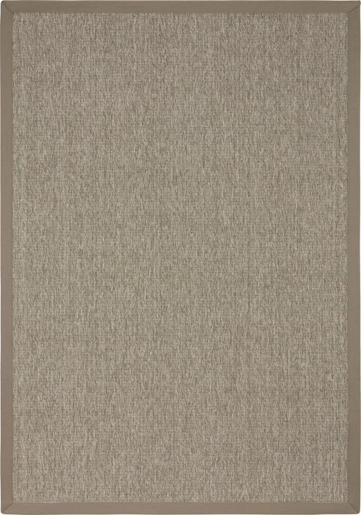 FLACHWEBETEPPICH IN-/ OUTDOOR  133/190 cm  Grau - Grau, Textil (133/190cm) - LINEA NATURA