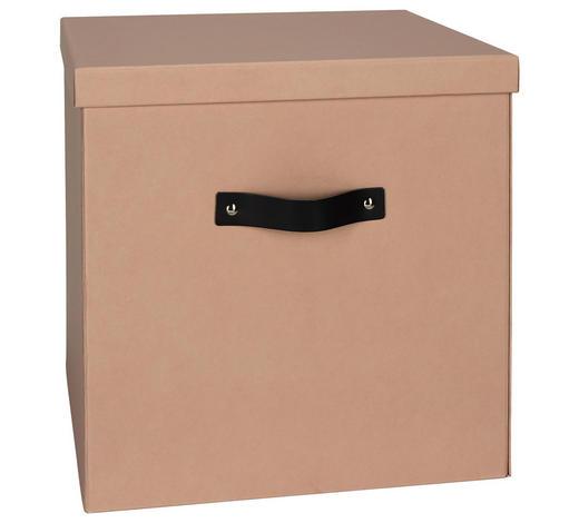 KARTONAGE 31,5/31,5/31 cm  - Hellrosa, KONVENTIONELL, Karton (31,5/31,5/31cm)