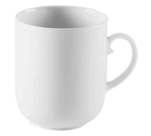 VELIKA ŠALICA ZA KAVU   250 ml   - bijela, Konvencionalno, keramika (0,25l) - Seltmann Weiden
