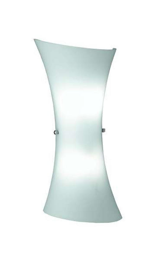 WANDLEUCHTE - Weiß, KONVENTIONELL, Metall (35cm)
