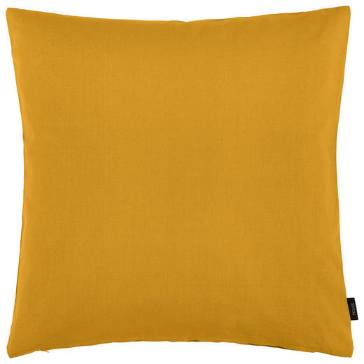 KISSENHÜLLE - Gelb, Basics, Textil (60/60/cm) - Novel