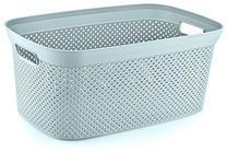 AUFBEWAHRUNGSBOX 35/24/17 cm  - Mintgrün, Design, Kunststoff (35/24/17cm) - Homeware