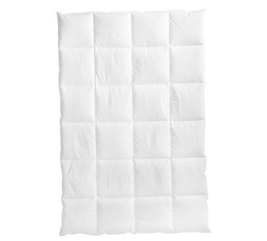 DAUNENDECKE  135/200 cm   - Weiß, Basics, Textil (135/200cm) - Centa-Star