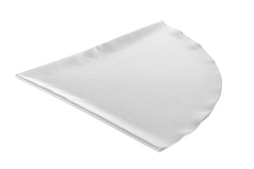 TISCHDECKE Textil Weiß 180 cm - Weiß, Textil (180cm)