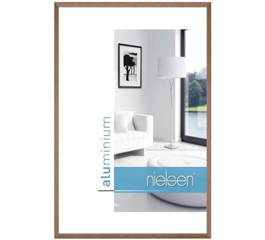 BILDERRAHMEN  Braun - Braun, Basics, Metall (30/40cm) - Nielsen