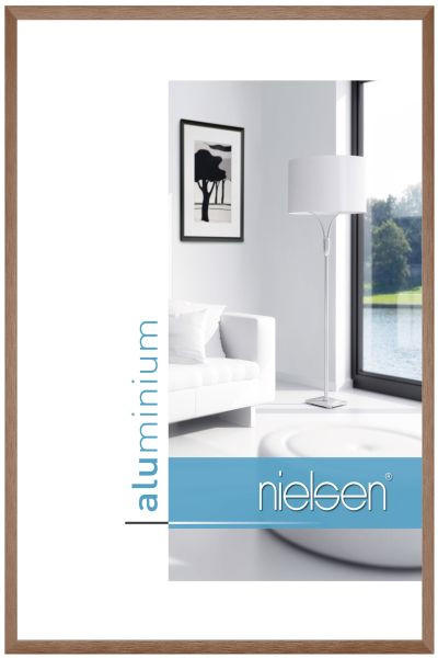 BILDERRAHMEN  Braun - Braun, Basics, Metall (30/40cm)