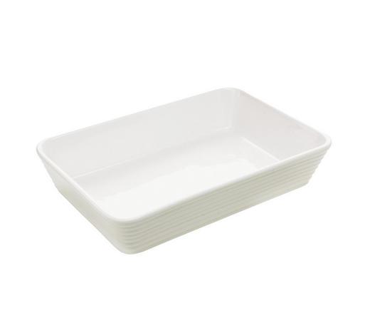 AUFLAUFFORM Keramik Porzellan  - Weiß, Basics, Keramik (29,5/20/6cm) - Homeware Profession.