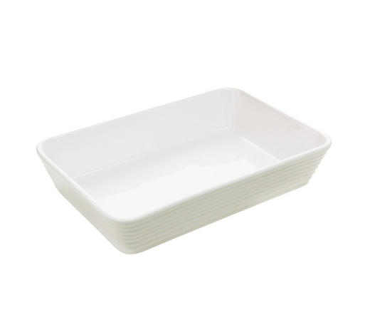 MISKA ZAPÉKACÍ, porcelán - bílá, Basics, keramika (29,5/20/6cm) - Homeware Profession.