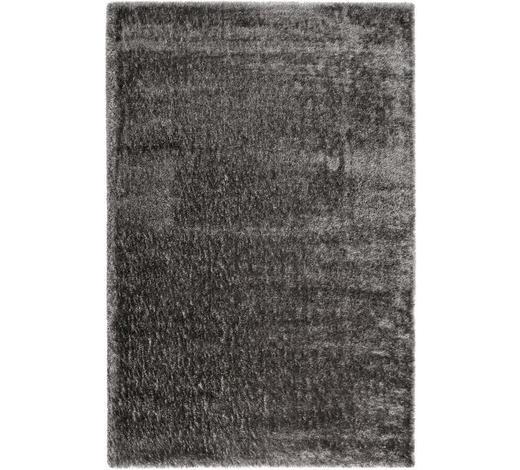 HOCHFLORTEPPICH  133/200 cm  gewebt  Grau, Silberfarben   - Silberfarben/Grau, KONVENTIONELL, Textil (133/200cm) - Esprit