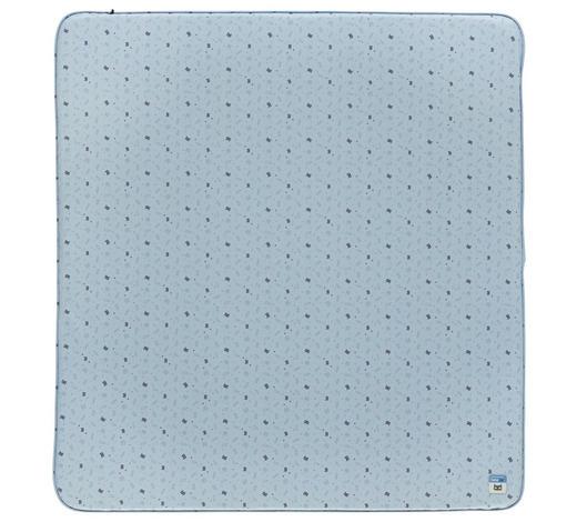 WICKELAUFLAGE - Blau/Schwarz, Trend, Kunststoff (77/74/9cm) - Bebe Jou