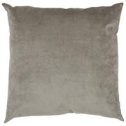 Zierkissen 50/50 cm  - Silberfarben, Basics, Textil (50/50cm) - Novel