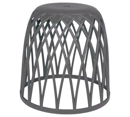 BADHOCKER - Anthrazit, Design, Kunststoff (43,5/43,5cm)