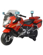 MOTORRAD - Rot/Schwarz, Basics, Kunststoff/Metall (123,3/54,2/76,1cm)