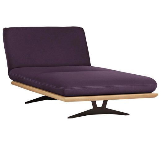 OTTOMANE Violett  - Beige/Violett, Design, Holz/Textil (114/92/165-218cm) - Dieter Knoll