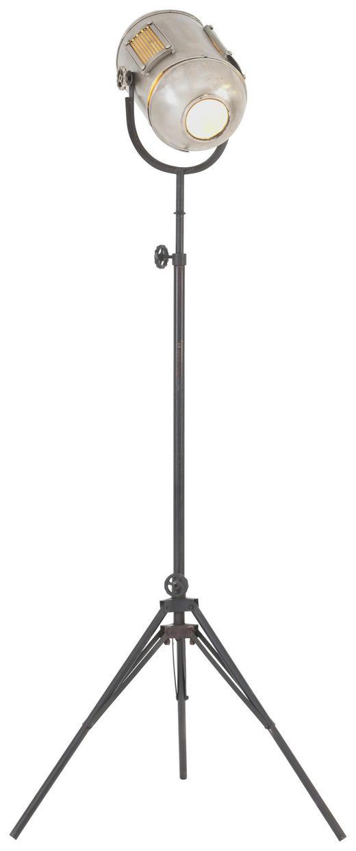 STEHLEUCHTE - Design, Metall (40/125/45cm)