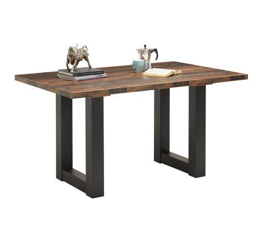 JÍDELNÍ STŮL, černá, barvy dubu - černá/barvy dubu, Konvenční, kompozitní dřevo (140/90/75cm) - Hom`in