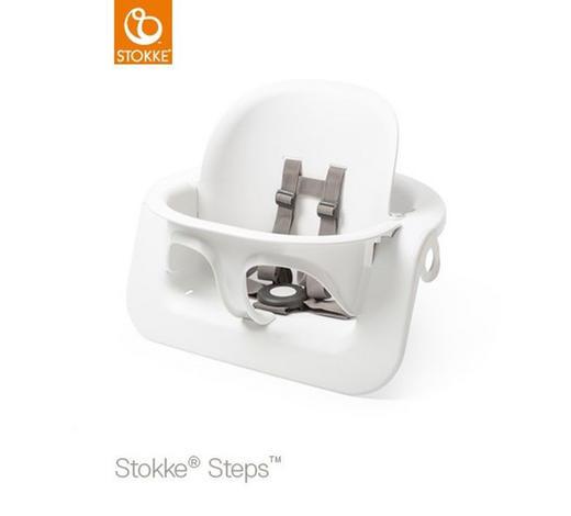 HOCHSTUHLBÜGEL Steps - Weiß, Trend, Kunststoff (47/37/24cm) - Stokke