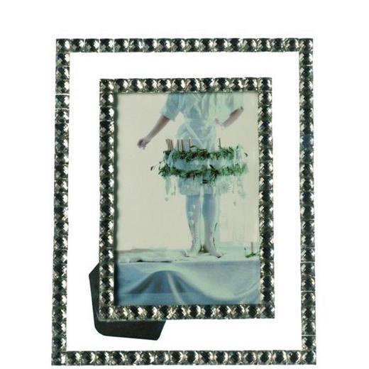 FOTORAHMEN  Klar, Silberfarben - Klar/Silberfarben, Basics, Glas (10/15cm) - Leonardo
