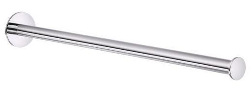 HANDTUCHSTANGE - Chromfarben, Basics, Metall (44cm)