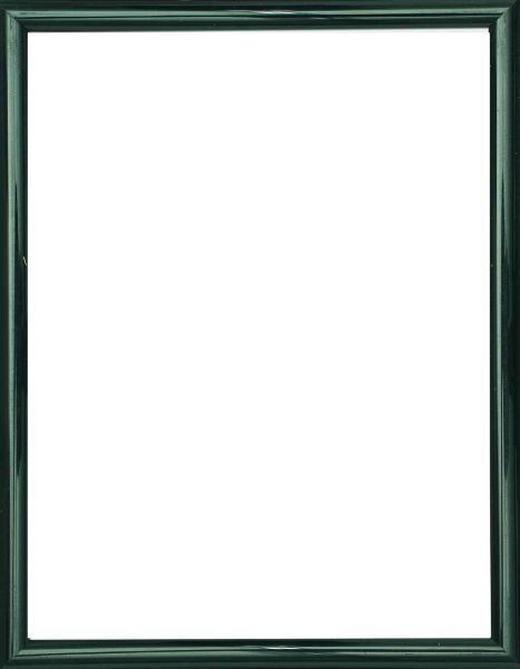 BILDERRAHMEN  Schwarz - Schwarz, Basics, Glas/Kunststoff (31/22/1.75cm)