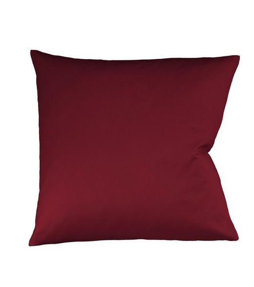 KISSENHÜLLE Bordeaux 80/80 cm - Bordeaux, Basics, Textil (80/80cm) - Fleuresse