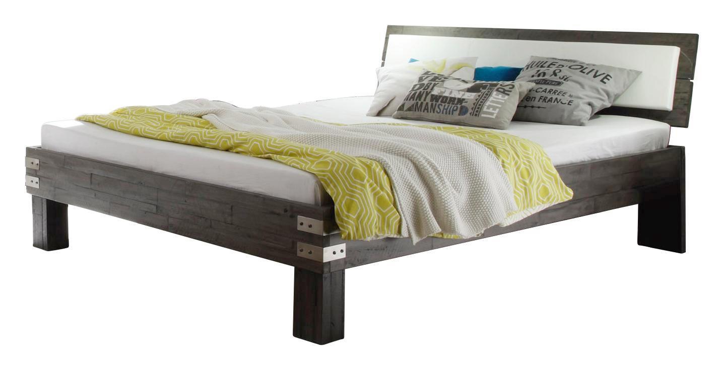 Bett Holz Grau. Free Large Size Of Bett X Mit Bettkasten Betten X ...