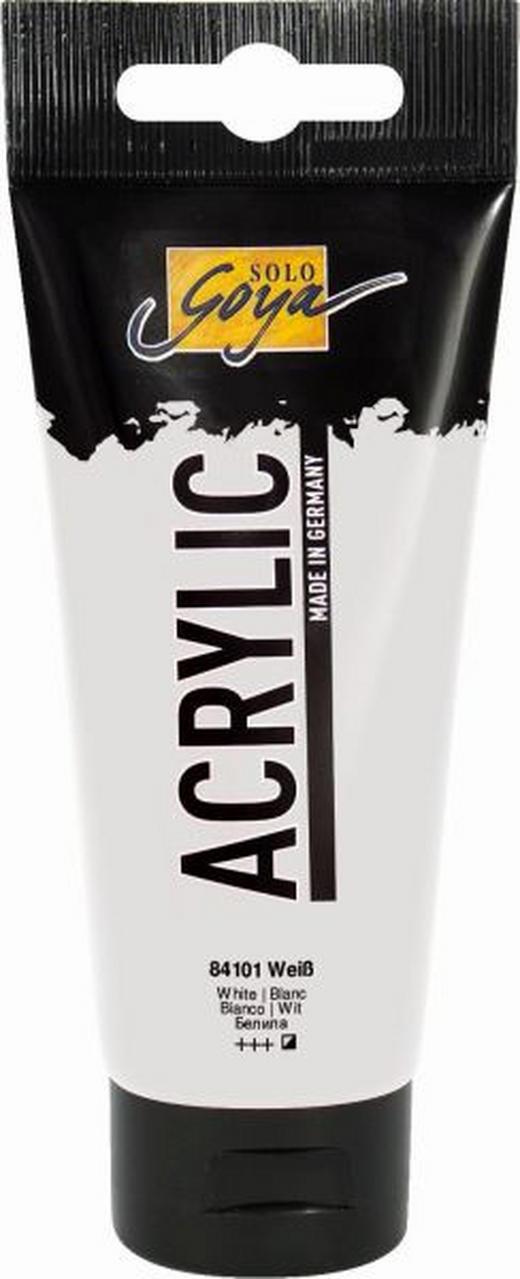 ACRYLFARBE - Weiß, Basics (3.8/15.5cm)
