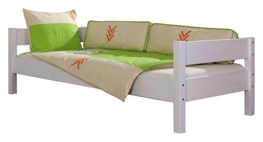KINDER-/JUNIORBETT - Weiß, Design, Holz (90/200cm)