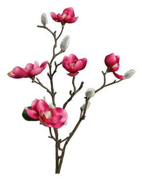 KONSTGJORD BLOMMA - pink/brun, Basics, textil/plast (64cm)