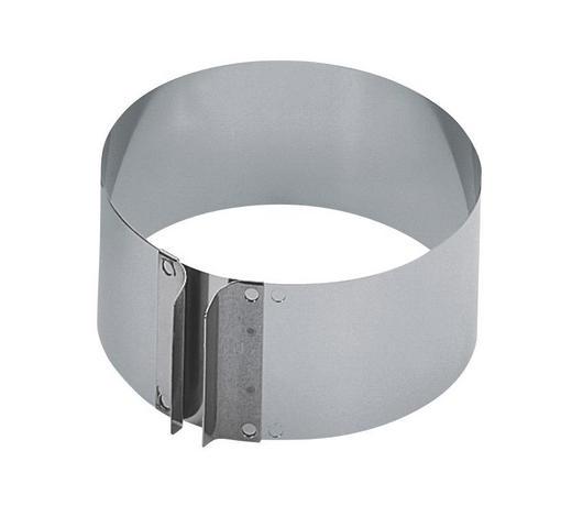 TORTENRING - Edelstahlfarben, Basics, Metall (16,5cm) - Kaiser