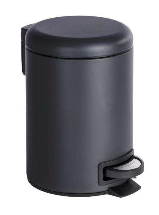 TRETEIMER 3 L - Schwarz, Basics, Kunststoff/Metall (17/25cm)