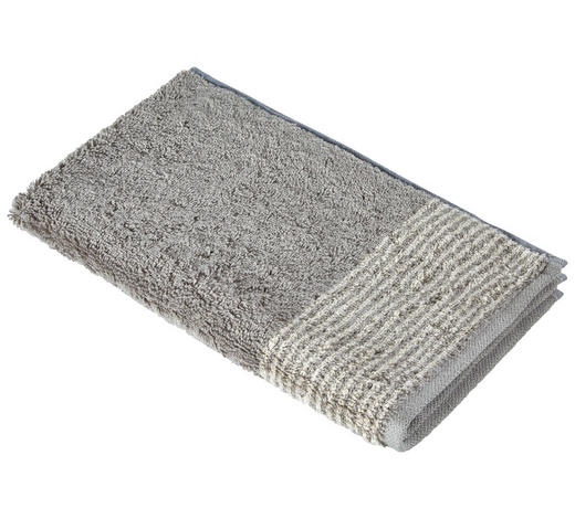 GÄSTETUCH 30/50 cm - Graphitfarben, KONVENTIONELL, Textil (30/50cm) - Cawoe