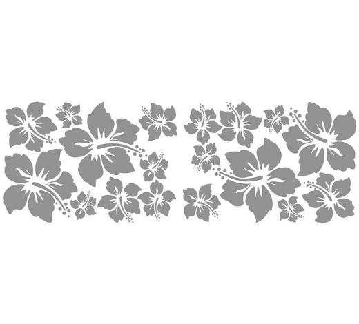 Blumen DEKOSTICKER  - Multicolor, Basics, Kunststoff (50/70/0,10cm)