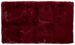 BADEMATTE  Rot  70/120 cm     - Rot, Design, Kunststoff/Textil (70/120cm) - Esposa