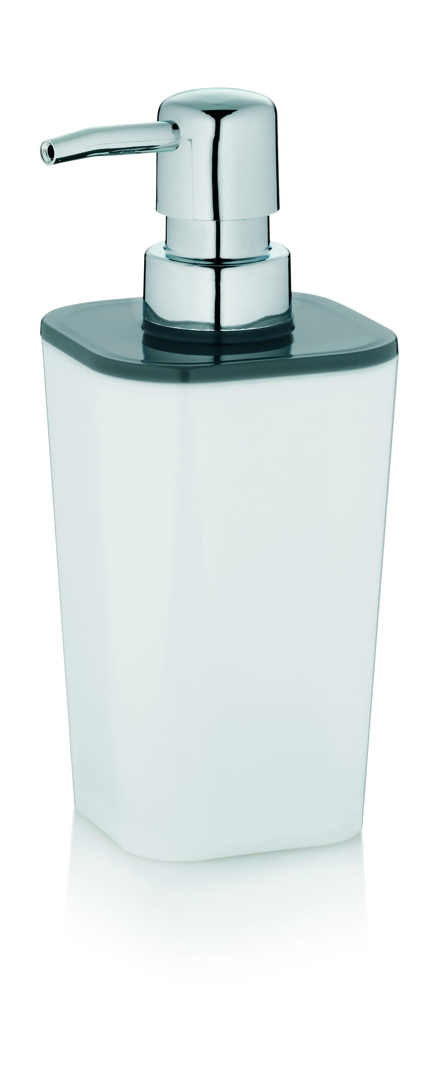 SEIFENSPENDER - Weiß, Basics, Kunststoff (7,5/7,5/17cm)