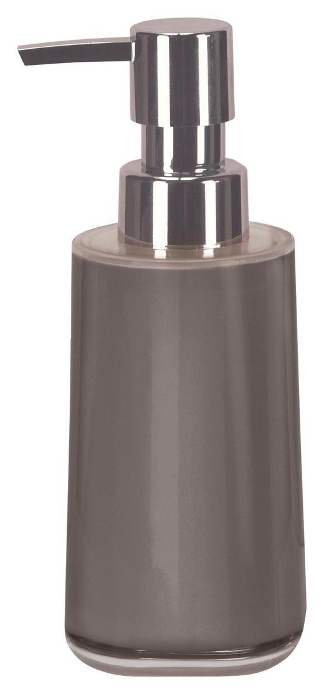 SEIFENSPENDER Kunststoff - Platinfarben, Design, Kunststoff (6,5/17,1/6,5cm) - Kleine Wolke