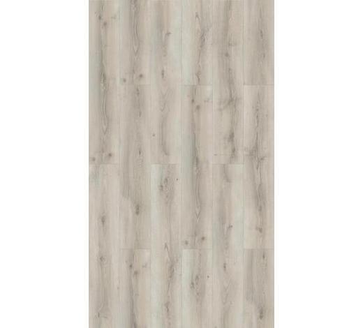 LAMINATBODEN Weiß, Eichefarben, Hellgrau  per  m² - Eichefarben/Hellgrau, KONVENTIONELL, Holzwerkstoff (128,5/24,3/0,8cm) - Parador