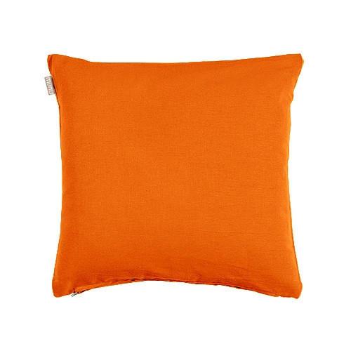 KISSENHÜLLE Orange 40/40 cm - Orange, Basics, Textil (40/40cm) - LINUM