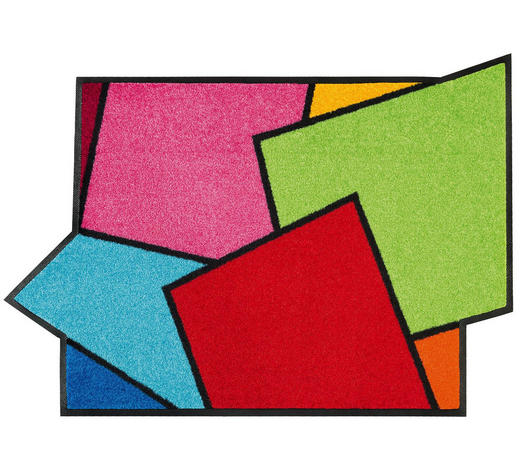 FUßMATTE  60/85 cm  Multicolor - Multicolor, Basics, Kunststoff/Textil (60/85cm) - Esposa