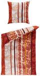 BETTWÄSCHE Orange 135/200 cm - Orange, KONVENTIONELL, Textil (135/200cm) - Esposa