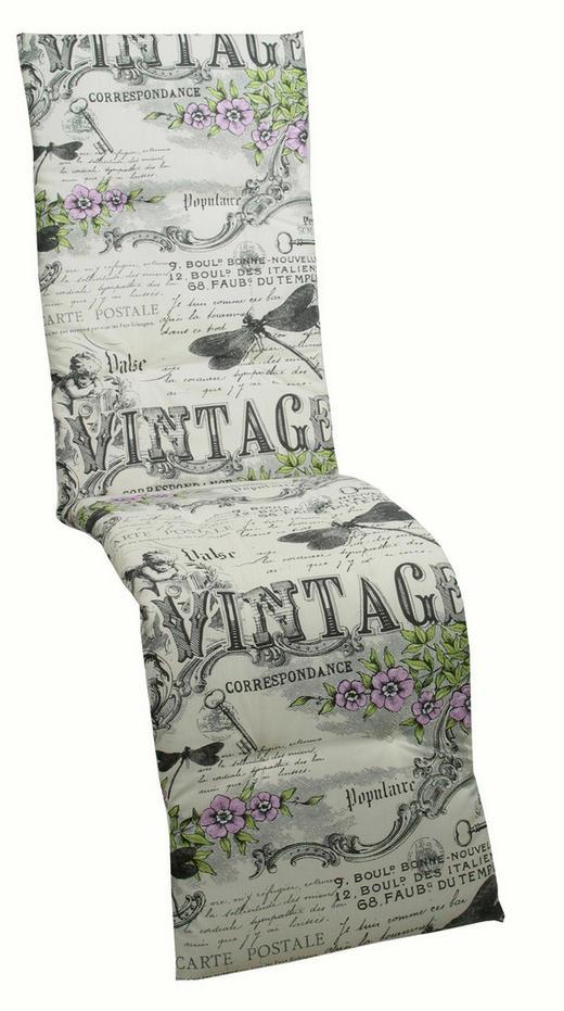 JASTUK ZA STOLICU - siva/zelena, Design, tekstil (50/170/5cm) - Ambia Garden