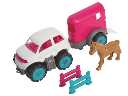 Big Ponytransporter Set Big PW Mini - Multicolor, Basics, Kunststoff (12/36,5/14cm) - Simba