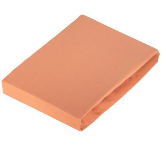 SPANNBETTTUCH Jersey Kupferfarben bügelfrei - Kupferfarben, Basics, Textil (100/200cm) - Novel