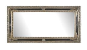 SPEGEL - silver/svart, Lifestyle, glas/trä (100/200/6,7cm) - Landscape