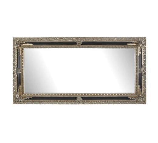 ZRCADLO, 100/200/6,7 cm - černá/barvy stříbra, Lifestyle, dřevo/sklo (100/200/6,7cm) - Landscape