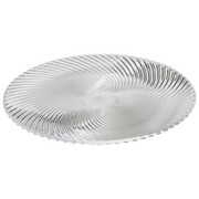 Platzteller-Set Glas 2-teilig - Klar, Basics, Glas (32cm) - Nachtmann