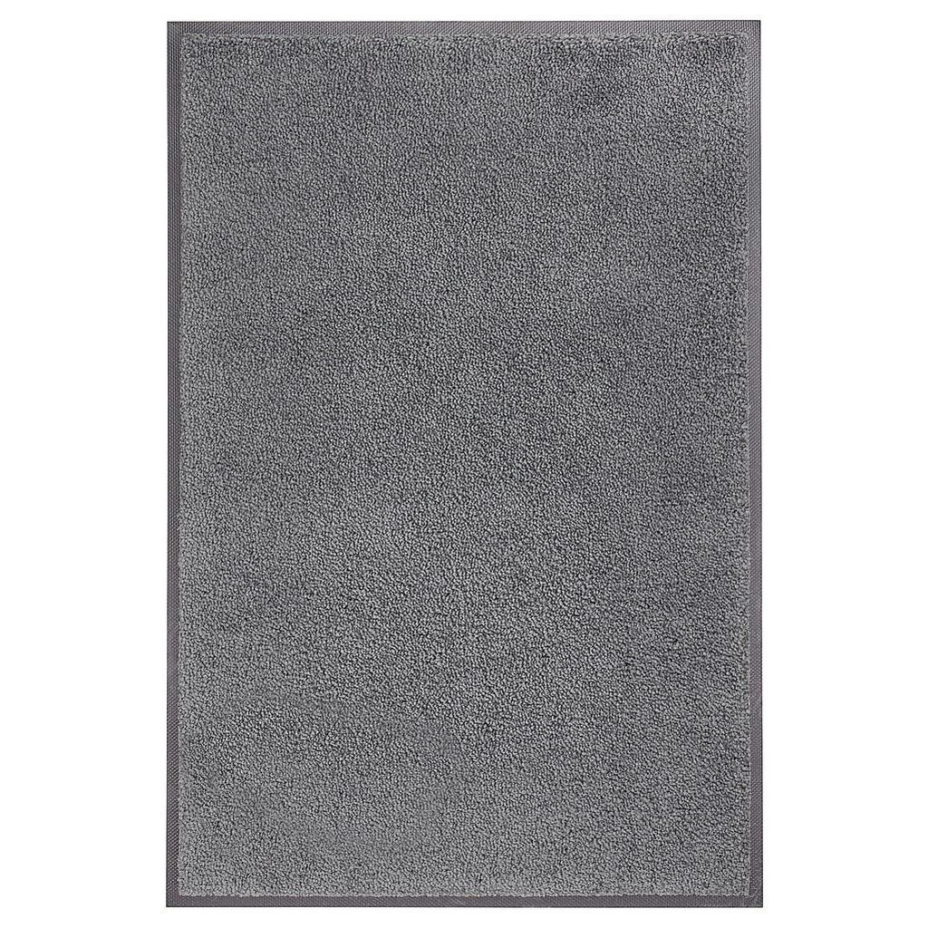 Esposa Fußmatte 50/75 cm uni schwarz