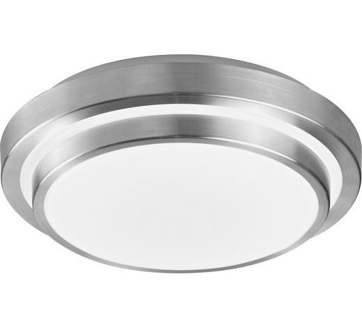LED STROPNÍ SVÍTIDLO - bílá/barvy hliníku, Basics, kov/umělá hmota (29/29/9cm) - Novel